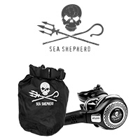 Starke Marke Sea Shepherd bei Atlantis Berlin